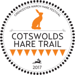 cotswold hare trail 2017 logo